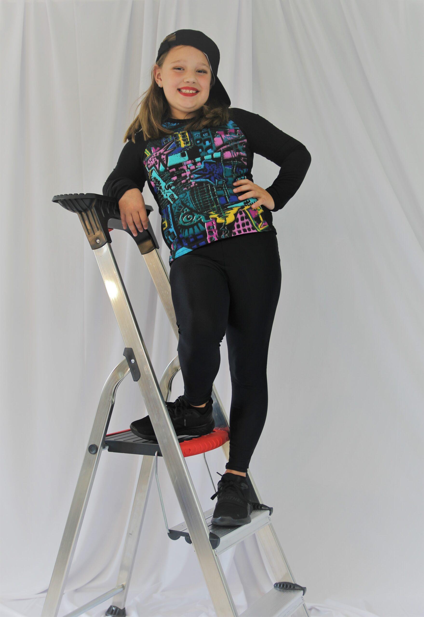 graffiti shirt kostuum