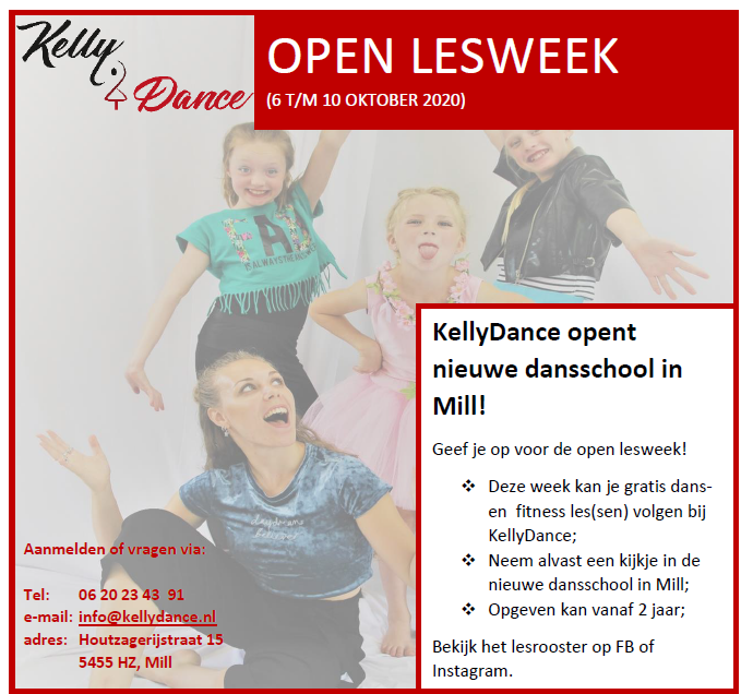 Open les week KellyDance